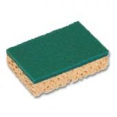 Éponge tampon vert